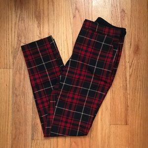 EUC Plaid Cropped Zara Pants XS